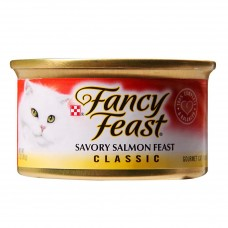 FANCY FEAST Adult Savory Salmon Feast