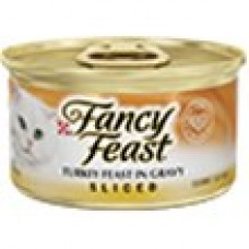 FANCY FEAST Adult Sliced Turkey in Gravy Feast