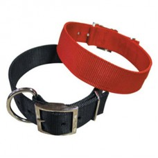Dog Collar Nylon Double-Stitched 30 mm