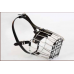 Dog Wire Basket Muzzle with Adjustable Straps Size 6