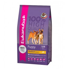 EUKANUBA Medium Breed (10-25kg) Puppy 15 Kg