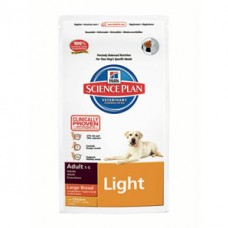 SCIENCE PLAN Large Breed Adult Chicken Light 12 kg