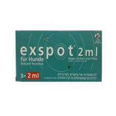 Exspot XL 2ml for 15-30kg Dogs