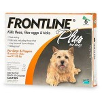FRONTLINE Drops for Small Dogs up to 10 kg
