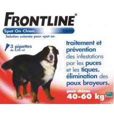 Frontline Plus Ampoules Large Breed 40-60kg
