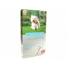 Advantix for Dogs Small Breed 4-10 kg