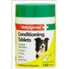 Vetzyme Conditioning Tablets for Dogs 100