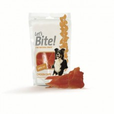Let's Bite Dog Treat Chicken Chips 80 gr