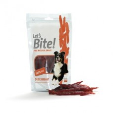 Let's Bite Dog Treat Duck Breast 80 gr