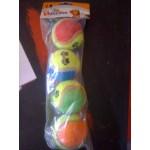 Colorful Tennis Balls - 4 Balls