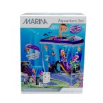 Marina Mermaid Fish Aquarium + Fish + Equipment
