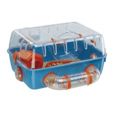 Hamster cage with tubes for playing - COMBI 1